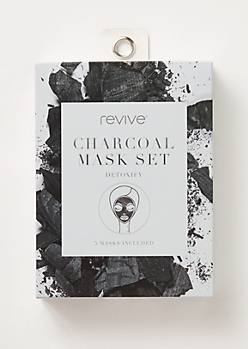 5-Pack Charcoal Face Mask Set