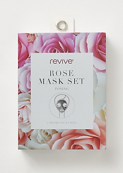 5-Pack Rose Face Mask Set