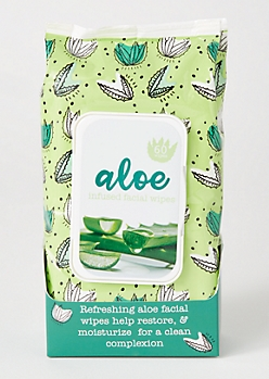 Aloe Facial Wipes