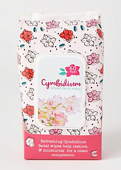Cymbidium Facial Wipes