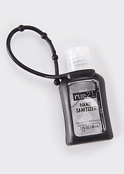 Black Mini Hand Sanitizer