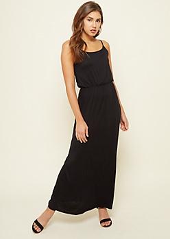 Black Maxi Cami Dress