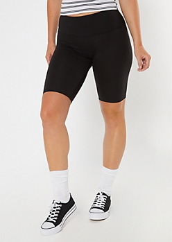 Black Super Soft Bike Shorts