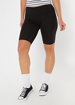 Black Super Soft Bike Shorts
