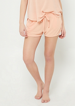 Coral Cozy Dolphin Shorts