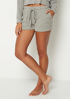 Hacci Knit Cozy Shorts
