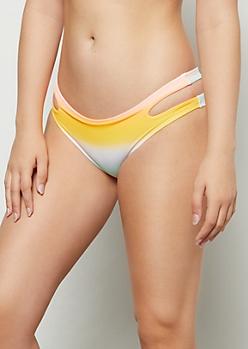 Sunny Pastel Double Strap Bikini Bottoms