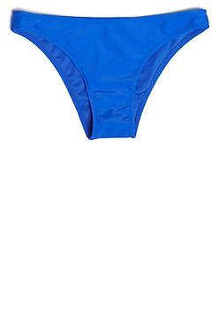 Royal Blue Low Rise Cheeky Bikini Bottoms