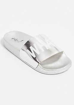 Silver What Ever Slides