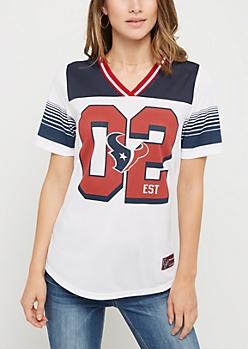Houston Texans Striped Football Jersey