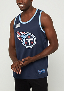 Tennessee Titans Mesh Jersey Tank Top