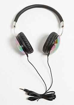 Black Crystal Headphones