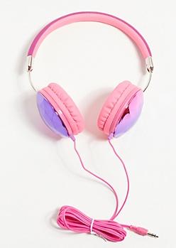 Purple Crystal Headphones