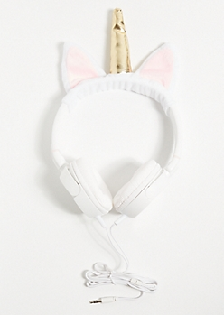 Plush Unicorn Headphones