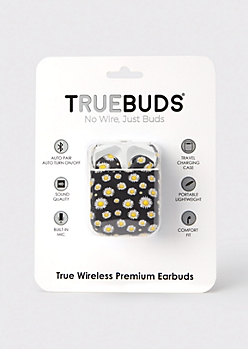 Black Sunflower Truebuds Wireless Earbuds