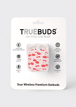 Pink Cherry Truebuds Wireless Earbuds