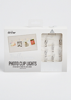 Crystal Firefly Photo Clip String Lights