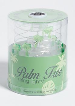 Green Palm Tree Firefly String Lights