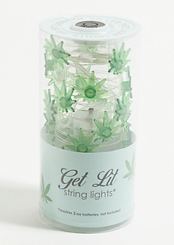 Weed Leaf Firefly String Lights