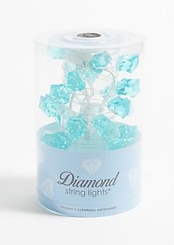 Blue Gemstone Firefly String Lights