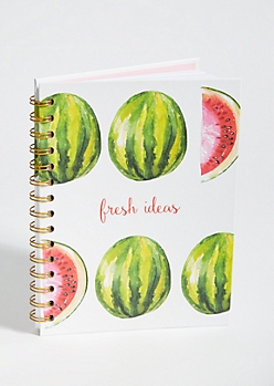 Watermelon Print Fresh Ideas Notebook
