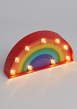 Rainbow Light Up Marquee