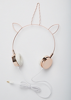 Unicorn Horn Wire Headphones