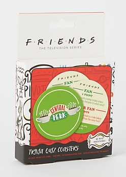 20-Pack Friends Trivia Quiz Coasters