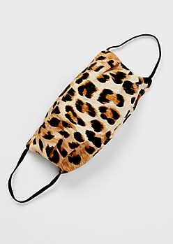 Leopard Print Fashion Face Mask
