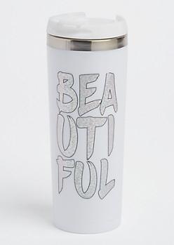 Beautiful Sparkling Insulated Travel Mug