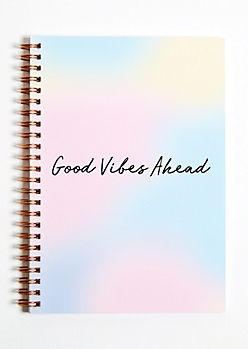 Good Vibes Ahead 2018 - 2019 Yearly Planner