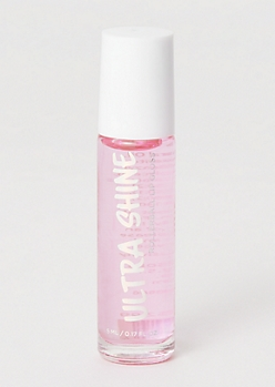 Pink Ultra Shine Rollerball Lip Gloss