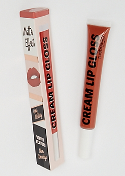 Peach Cream Lip Gloss