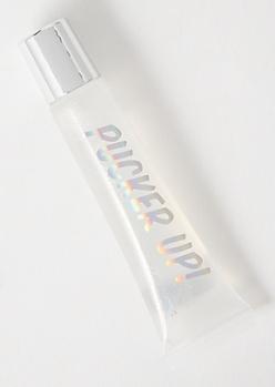 Clear Glitter Lip Plumping Lipgloss