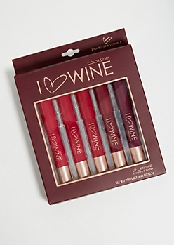5-Pack I Heart Wine Lip Crayon Set