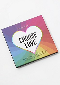 4-Pack Choose Love Highlighter Palette