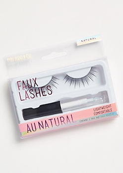 Au Natural Faux Lashes Kit
