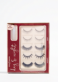 5-Pack Day and Night False Eyelash Set