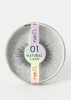 2-Pack Natural Lash Faux Eyelashes