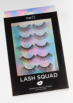 5-Pack Multi Faux Lashes