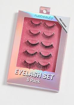 5-Pack Pro False Eyelash Set