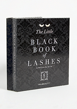 6-Pack Little Black Book Faux Eyelashes Set