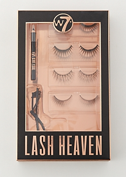 4-Pack W7 Faux Eyelash Heaven Set
