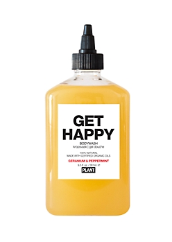 BE HAPPY Organic Bodywash By Plant Apothecary