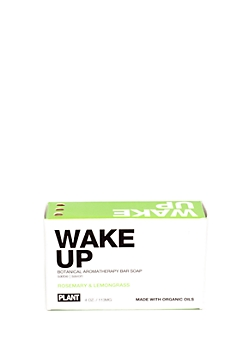 WAKE UP Organic Soap Bar By Plant Apothecary