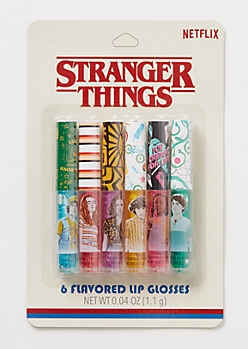 6-Pack Stranger Things Flavored Lip Gloss Set