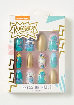 24-Pack Rugrats Press On Nail Set