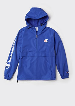 Champion Royal Blue Packable Windbreaker