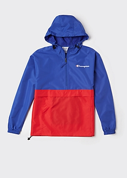 Champion Colorblock Packable Windbreaker