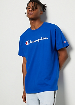 Champion Royal Blue Graphic Tee
